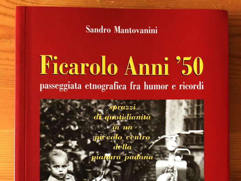 Copertina Ficarolo Anni 50