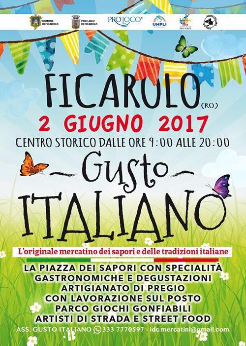 2 giugno ficarolo gusto italiano