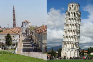 Ficarolo e PIsa: il gemellaggio delle torri pendenti