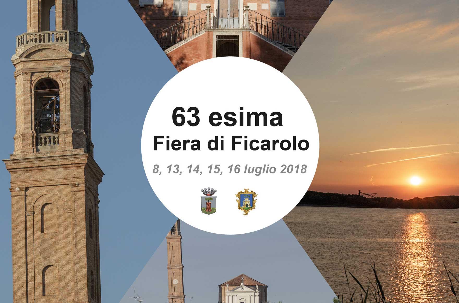 63a Fiera di Ficarolo, programma 2018