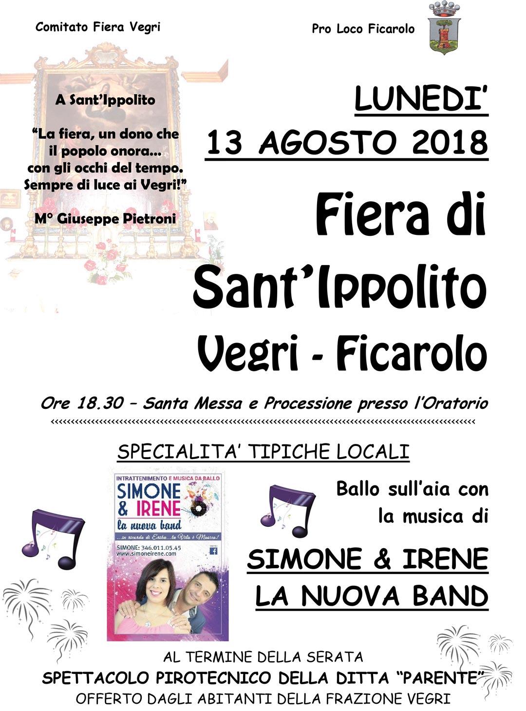 Fiera di Sant'Ippolito 2018 (Vegri)