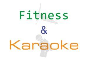 Fitness e karaoke in Villa Giglioli - locandina