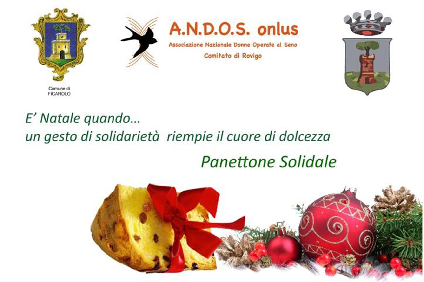 Panettone solidale ANDOS, a Natale regala una speranza