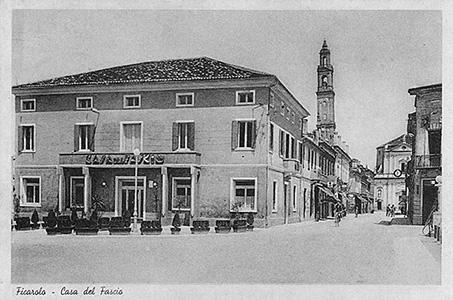 Casa del Fascio, Ficarolo, 1928.