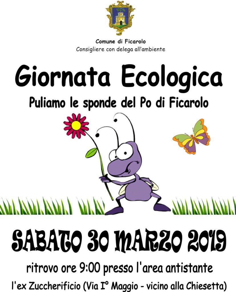 Giornata Ecologica 2019, puliamo le sponde del Po a Ficarolo