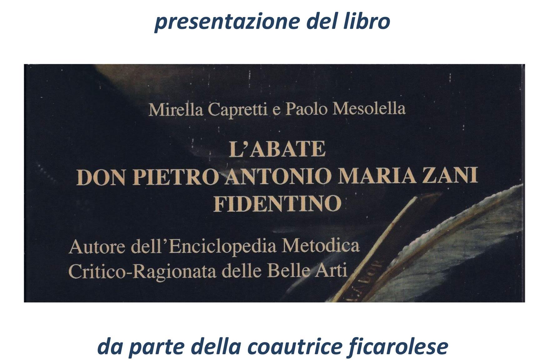 Abate Don Pietro Antonio Maria Zani Fidentino