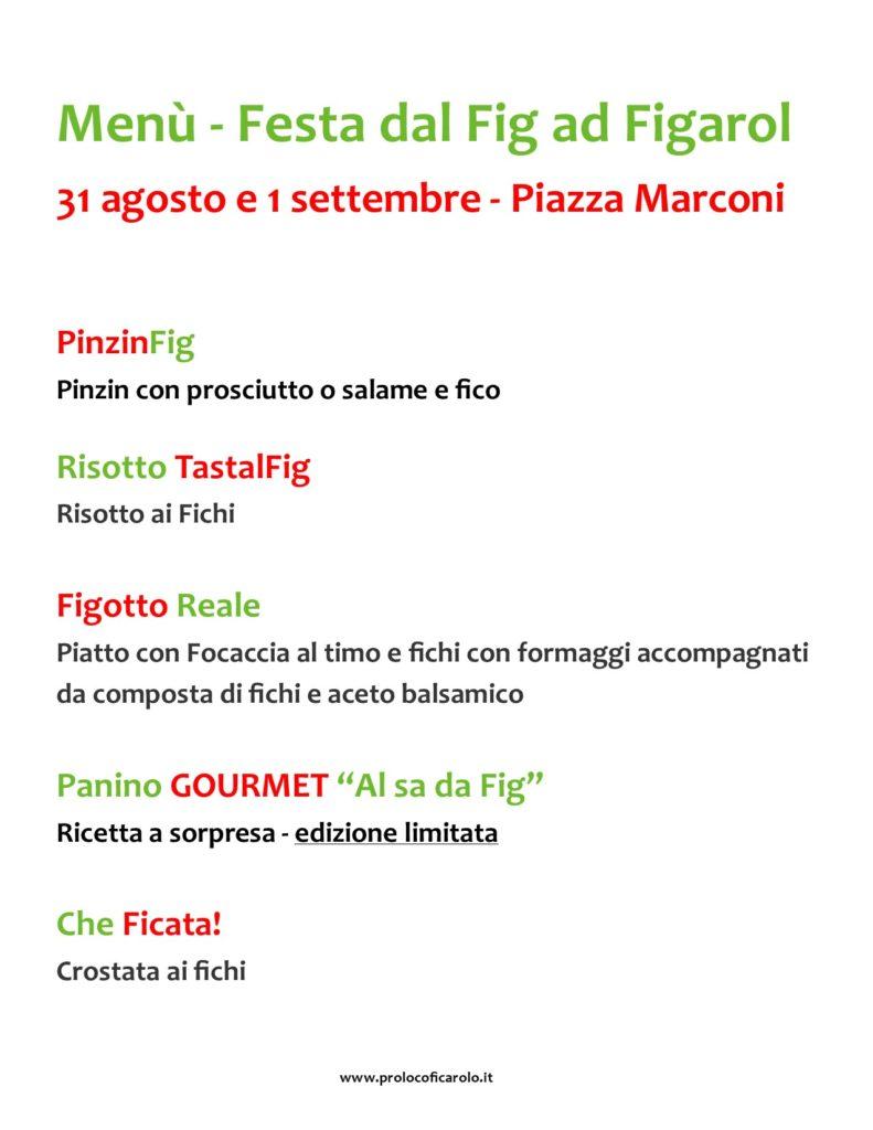 Festa dal Fig ad Figarol, prima edizione