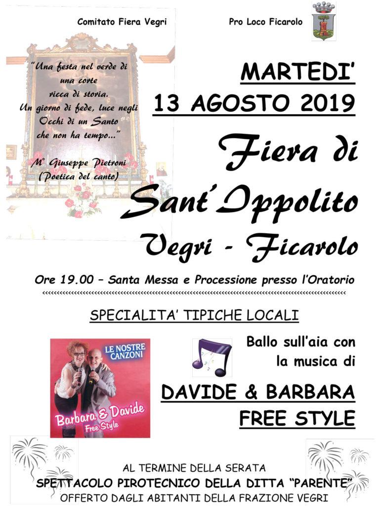 Fiera di Sant'Ippolito, 2019