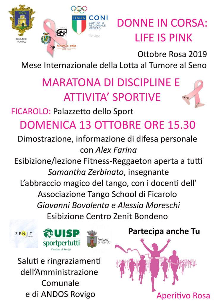 Ottobre Rosa 2019 a Ficarolo