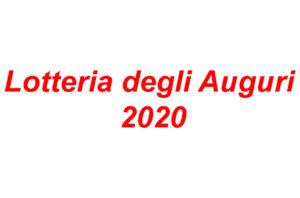 Lotteria degli Auguri 2020
