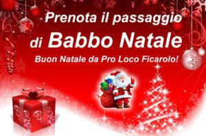 Natale 2019, prenota il passaggio di Babbo Natale