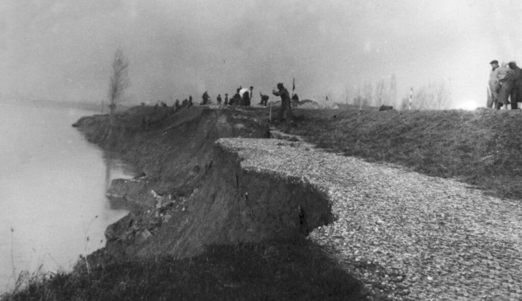 L'alluvione del 1951 - Ricordi di un ragazzo in lotta col Fiume