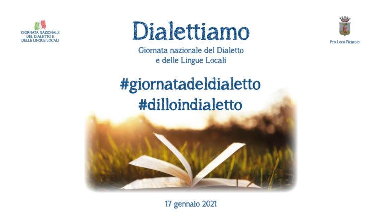 Dialettiamo: Giornata del Dialetto e delle Lingue Locali 2021