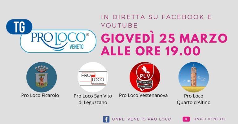Tg Pro Loco di Giovedì 25 Marzo 2021