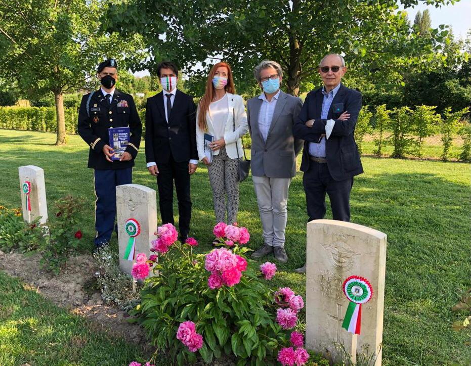 Gli aviatori che morirono a Ficarolo il 21 e 22 aprile aprile 1945, saranno ricordati per sempre 4